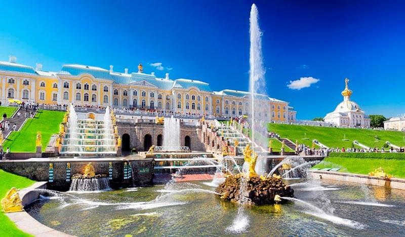 Jardines Inferiores de Peterhof