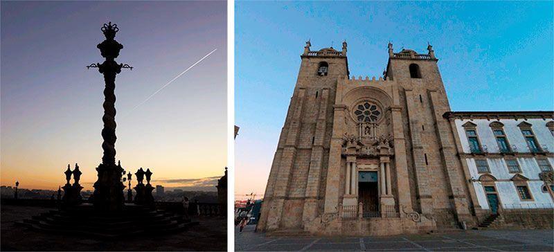 Plaza y Catedral de Porto