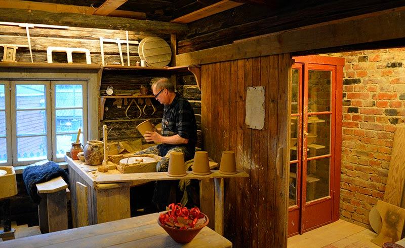 Artesanos de Skansen