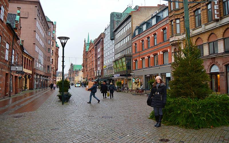 Calle Sodergatan que ver en malmo