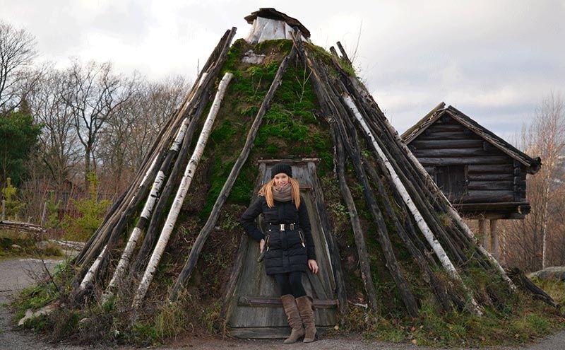 Casa más antigua de Skansen