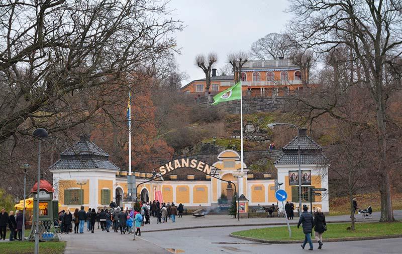 Entrada a Skansen