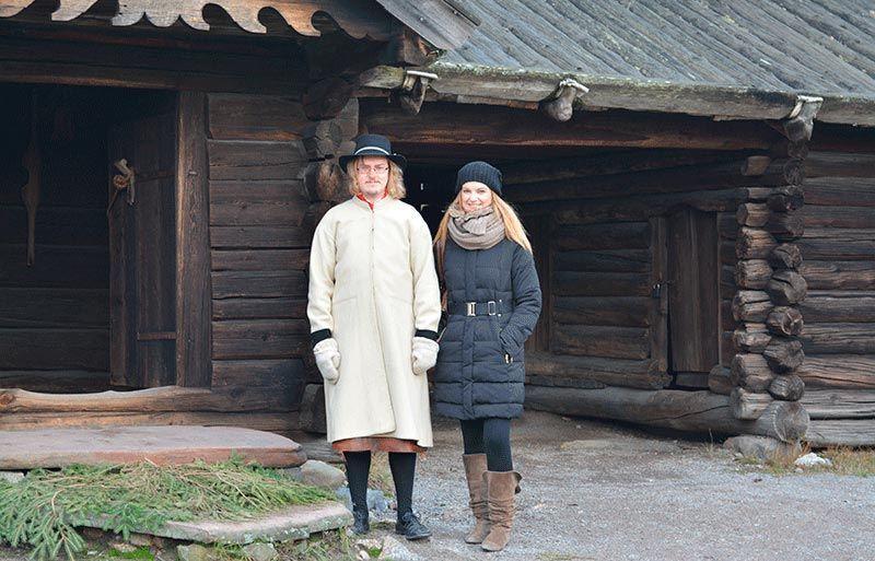 Típico granjero de Skansen