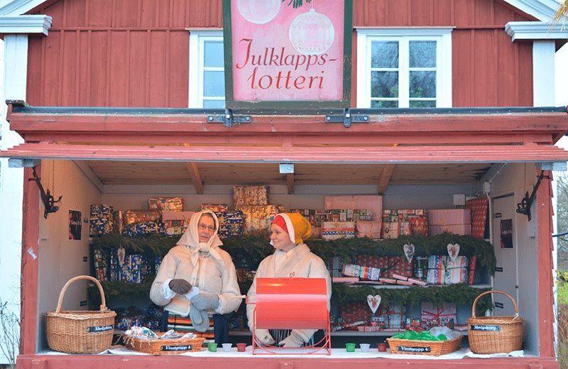 Mercado Navideño de Skansen