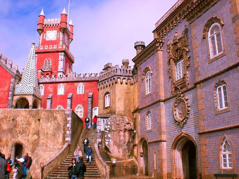 Palacio da pena - que visitar en Sintra