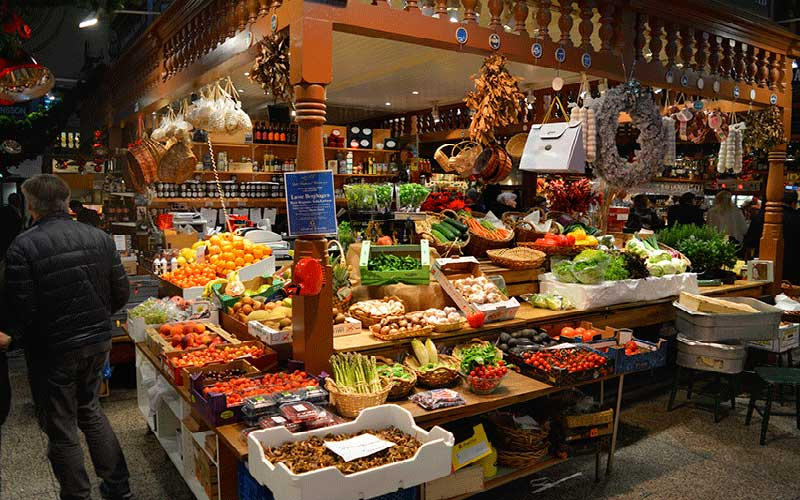 Puestos de Mercado de Saluhall