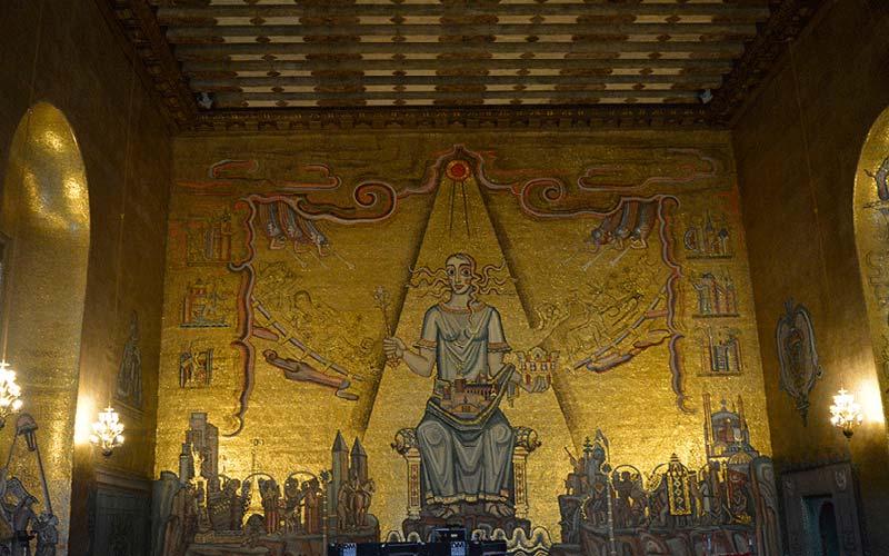 Salón Dorado del Ayuntamiento