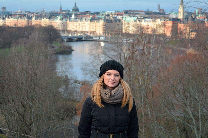 Vistas panorámicas de Estocolmo