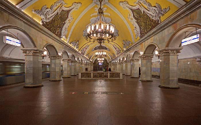 Estación de Metro Komsomolskaya