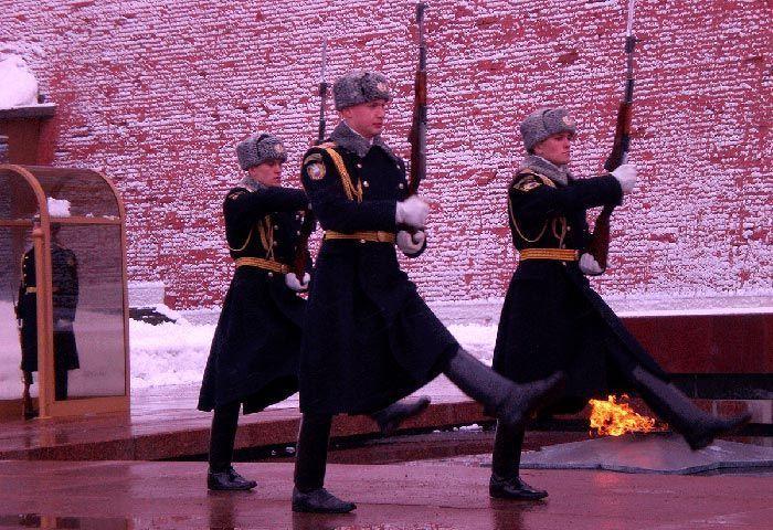 Cambio de Guardia de Moscú