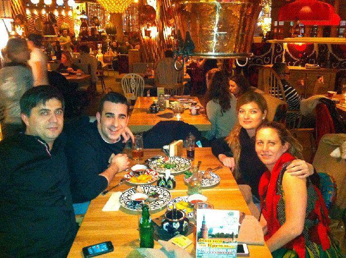 Cena en Moscu