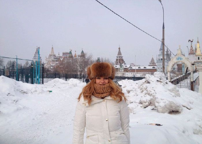 Entrada al Mercado Izmailovo