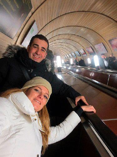 Escaleras del Metro de Moscu