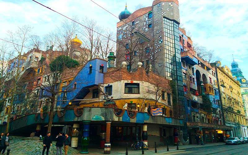 Que ver en Viena: Hundertwasserhauss
