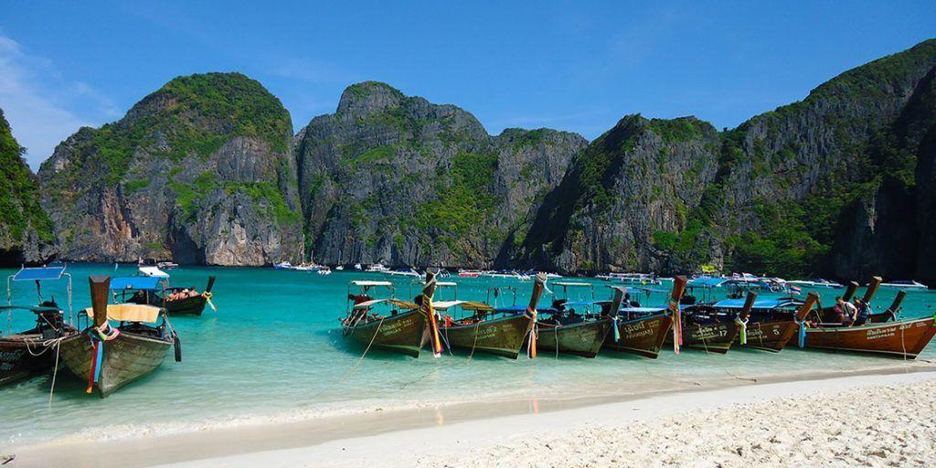 Las playas más paradisíacas de Islas Phi Phi