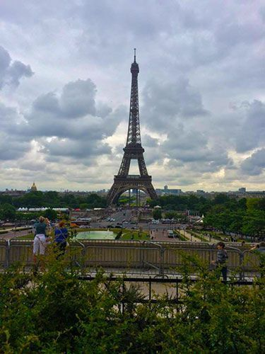 Vistas a la Torre Eiffel desde el Trocadero escapadas para semana santa