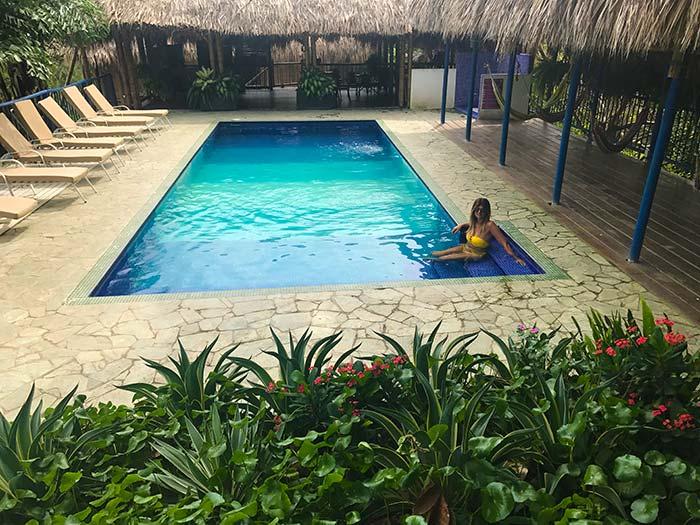 Hotel en tayrona