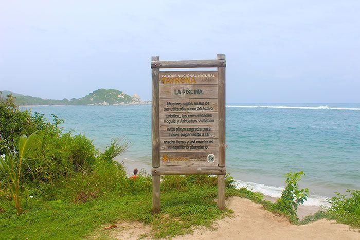 playa La Piscina