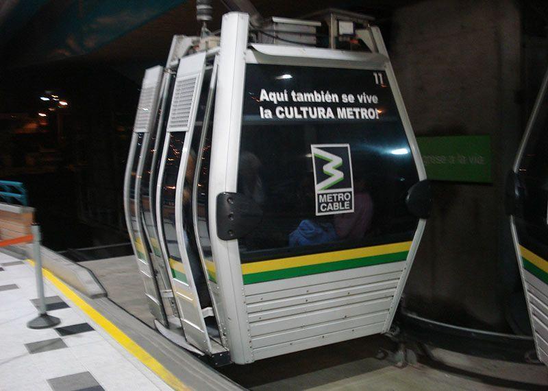 Metrocable que ver en Medellín
