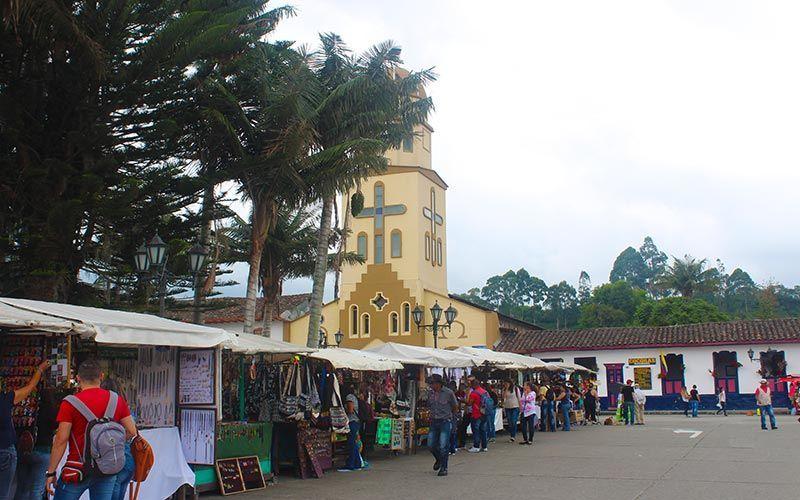 Plaza Bolívar Salento