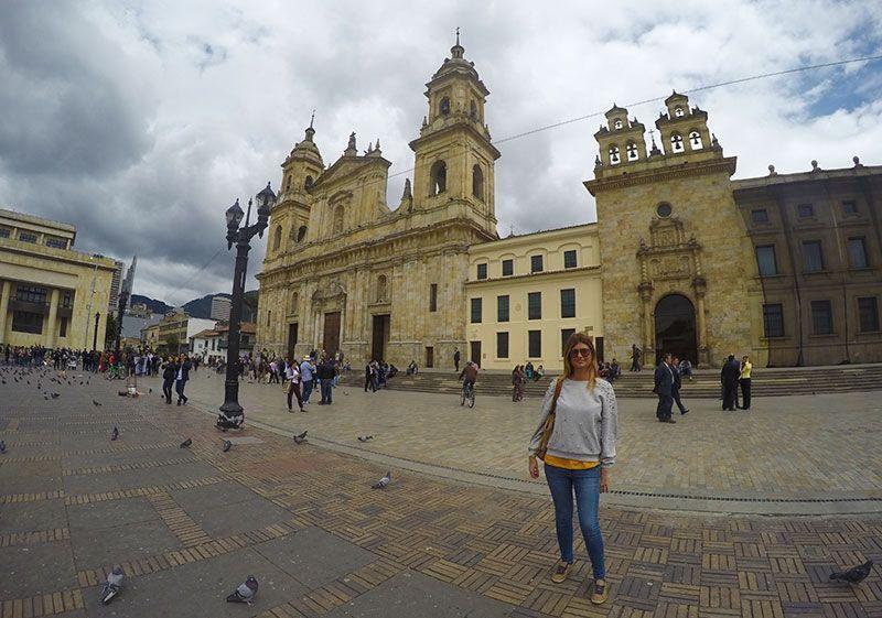 Plaza Bolívar sitios turísticos de Bogotá
