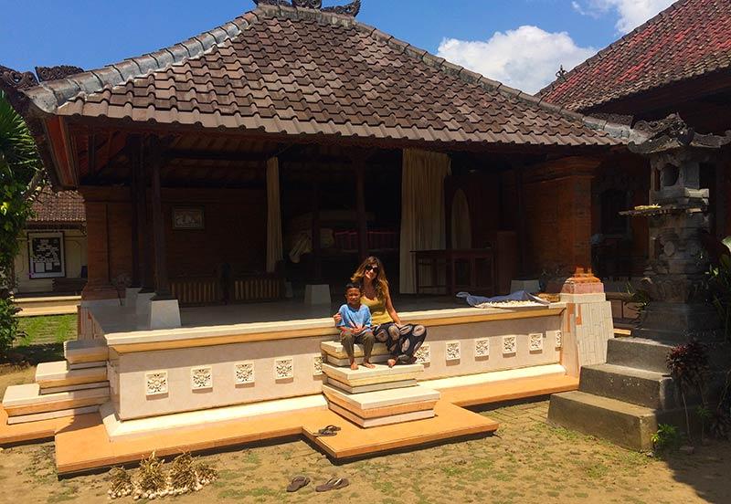 Aldea tradicional balinesa
