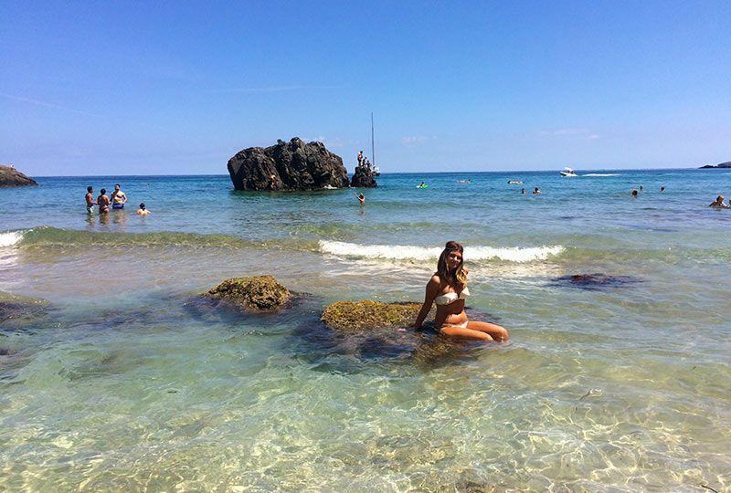 Playa de Aguas Blancas Ibiza