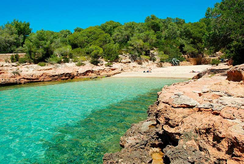 Las Calas más bonitas de Ibiza - Cala Gracioneta