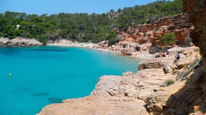 Las Calas más bonitas de Ibiza - Cala Salada