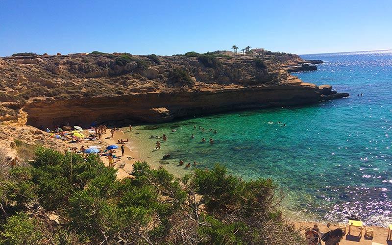 Las Calas más bonitas de Ibiza - Cala Conta