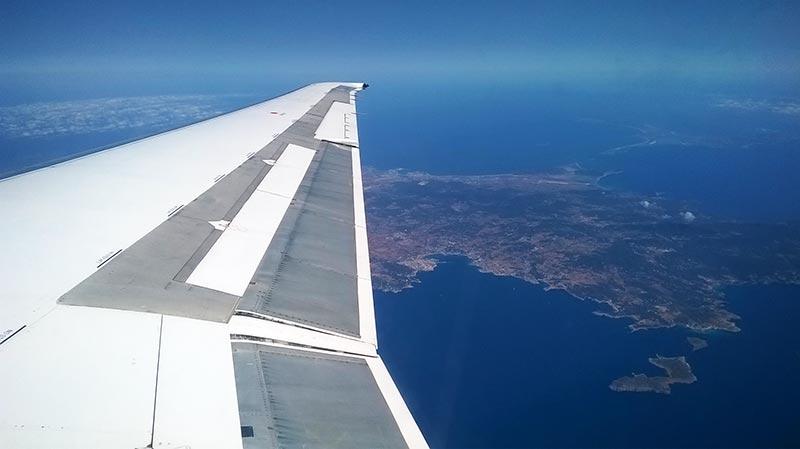 Vuelo de Barcelona a Ibiza