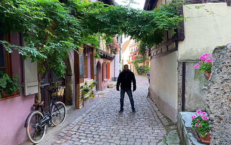 viaje a alsacia Eguisheim