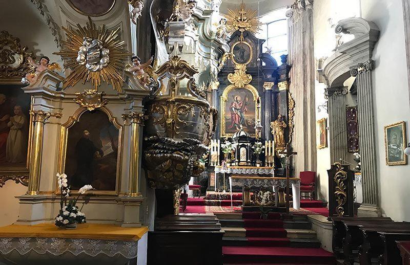 Iglesia de san Andrés Cracovia