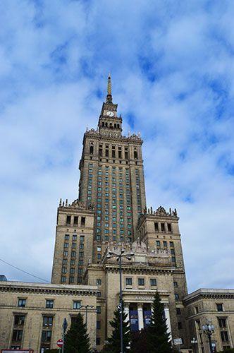 Palacio de la Cultura y de la Ciencia varsovia