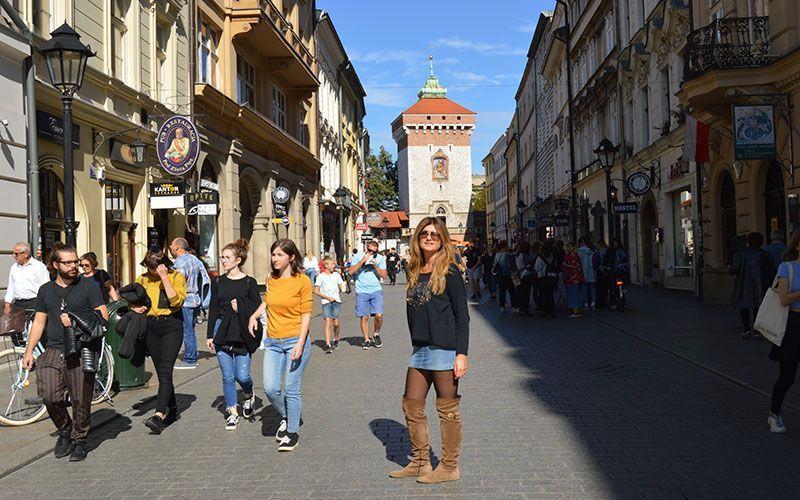 Calle Florianska Varsovia