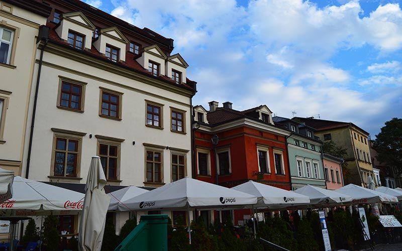 Calle Szeroka Cracovia