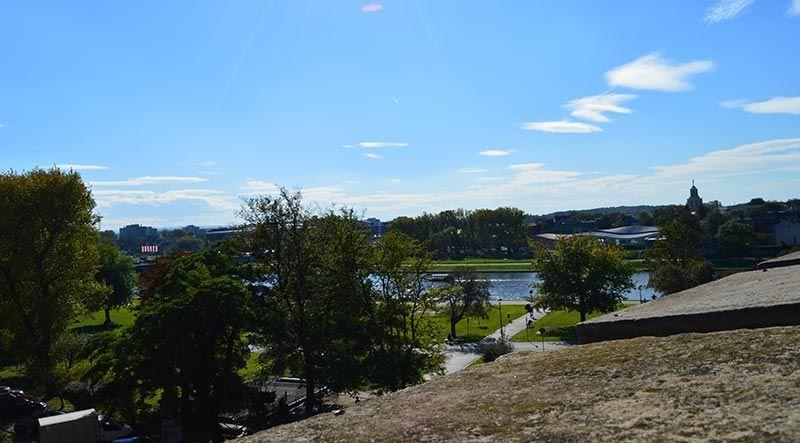 Vistas desde la colina