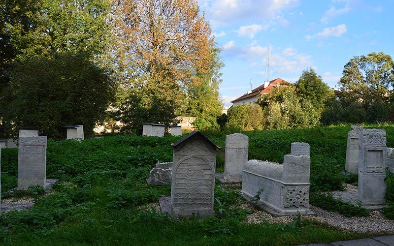 Cementerio judío Cracovia