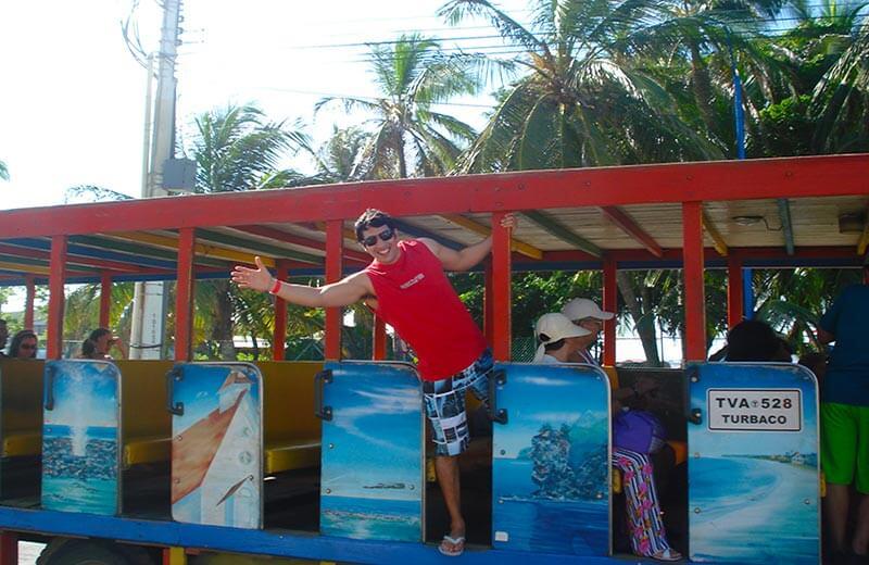 Vuelta a la isla de san andres en Chivas