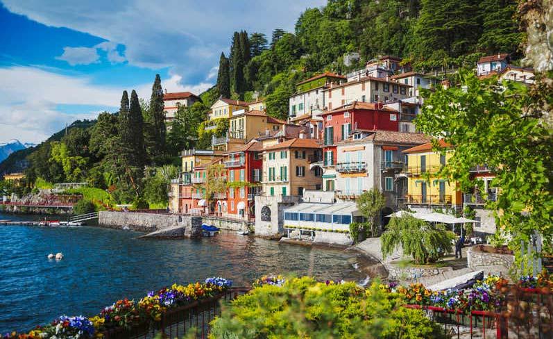 Lago Como, Milán
