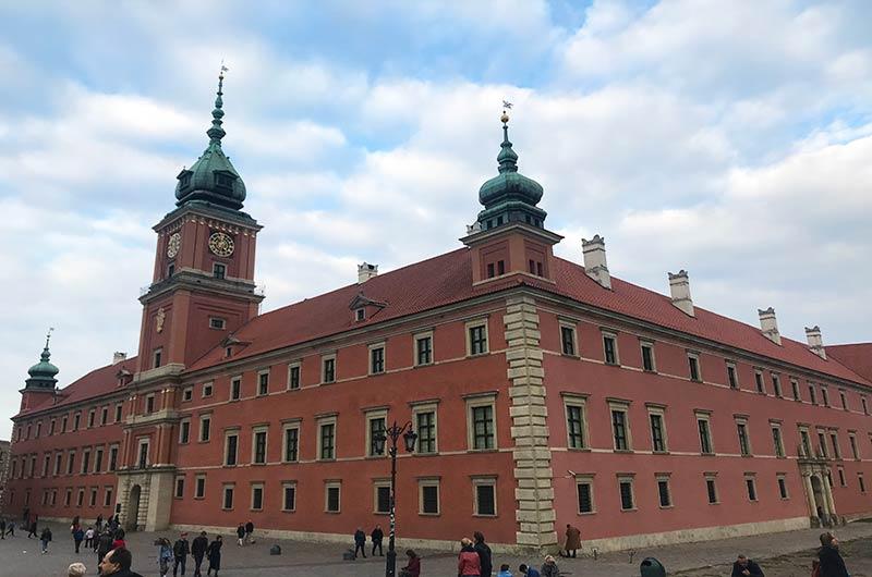 Palacio real Varsovia