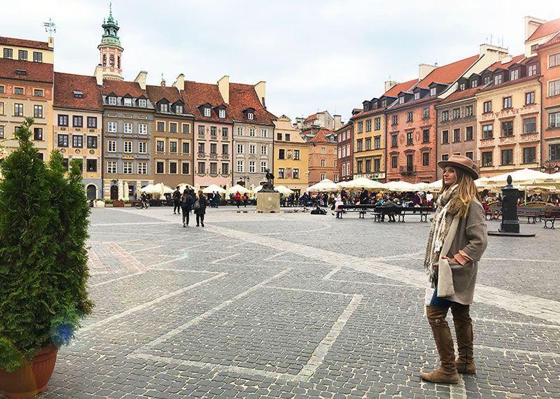 Plaza del Mercado Varsovia