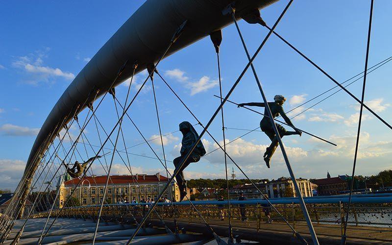 Puente Bernatek Cracovia