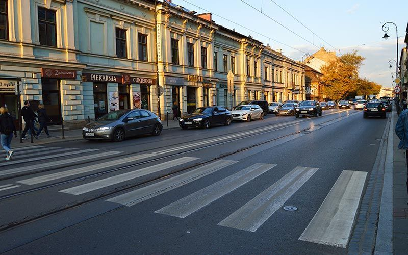 Punto de inicio del guetto de Cracovia