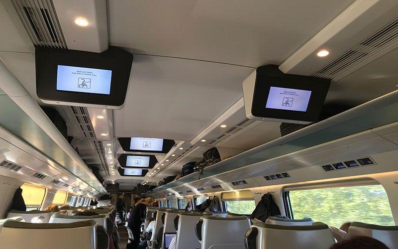 Tren de Varsovia a Cracovia