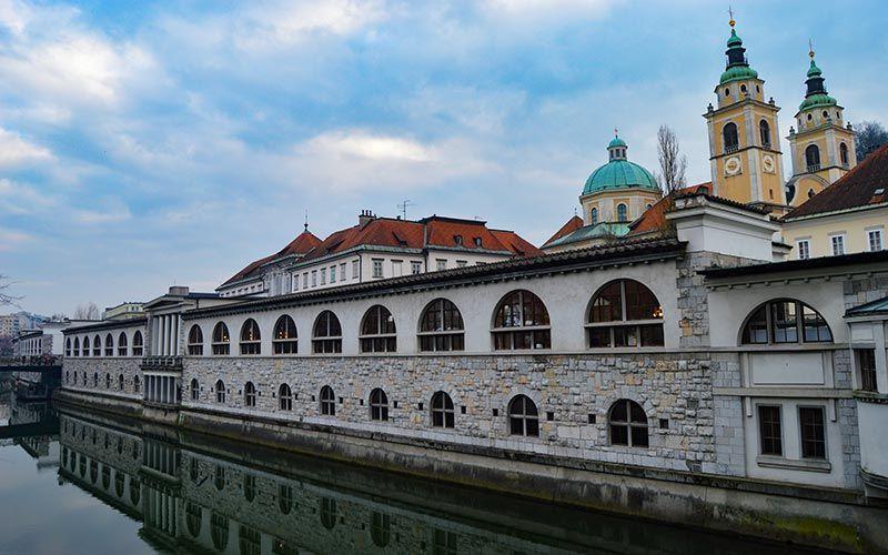 Mercado de Liubliana