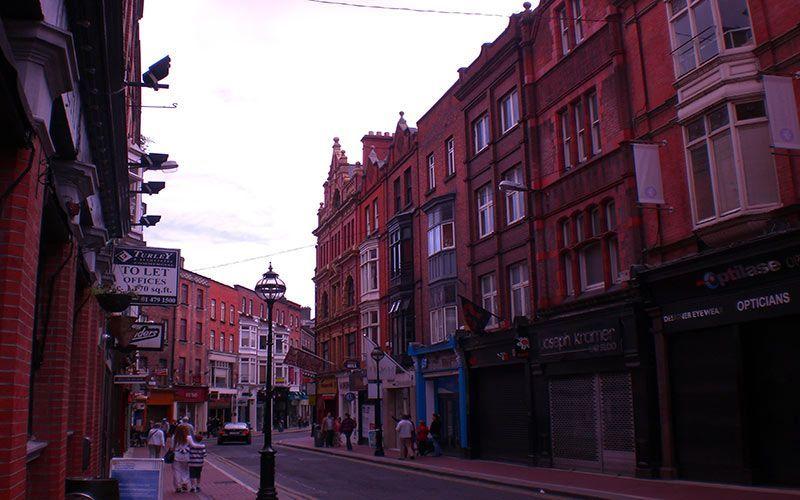 Calles de Dublín