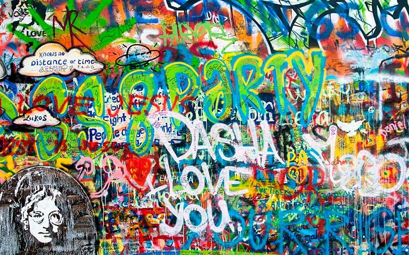 Muro de John Lennon Praga