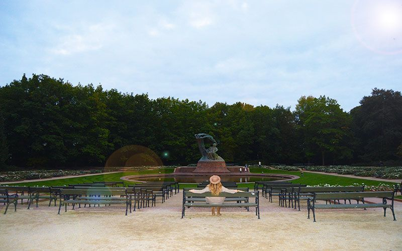 Parque Lazienky Varsovia