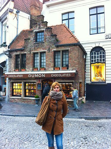 Chocolatería en Brujas Bélgica